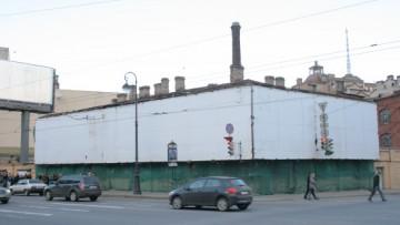 Территория мебельной фабрики Мельцера на Карповке