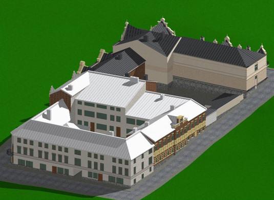 Квартал в Выборге между улицами Красина, Сторожевой Башни, Красноармейской, Крепостной