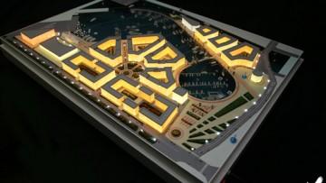 Проект реновации «Ленэкспо», макет