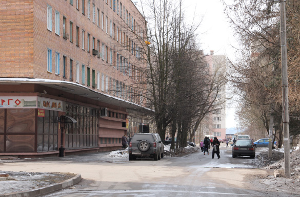 Поселок Ленсоветовский Пушкинского района