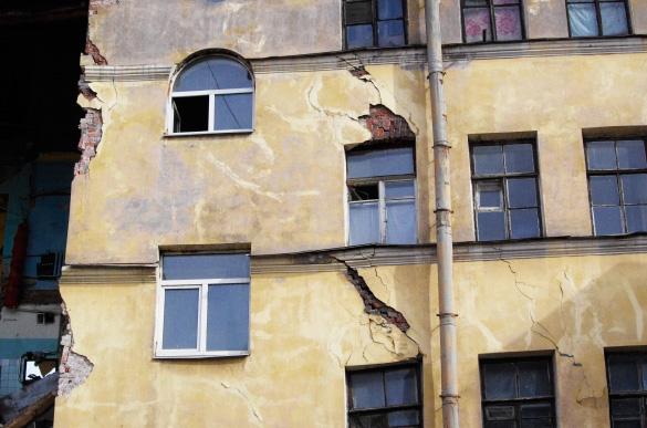 Лиговский проспект, 117, обрушение