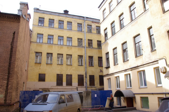 Дворовый флигель на Лиговском проспекте, 117