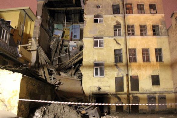 Лиговский, 117, обрушение