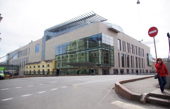 Вторая сцена Мариинского театра, улица Декабристов