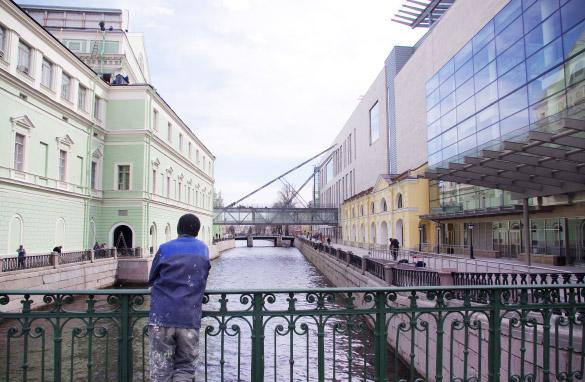 Крюков канал, вторая сцена Мариинского театра