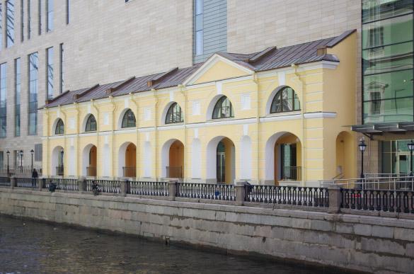 Сохраненный исторический фасад, вторая сцена, Мариинский театр