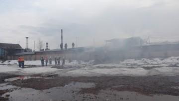 Пожар на проспекте Большевиков, 52