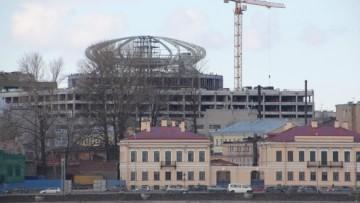 «Невская ратуша», вид с набережной