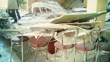 Обвалился потолок в театре «Буфф»