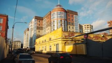 Жилой комплекс «Классика» на углу Малой и Глухой Зелениных улиц