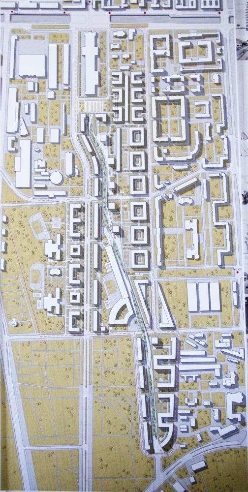 Проект застройки территорий за Варшавским вокзалом