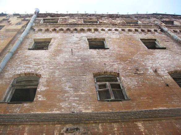 Снос исторических зданий в Выборге