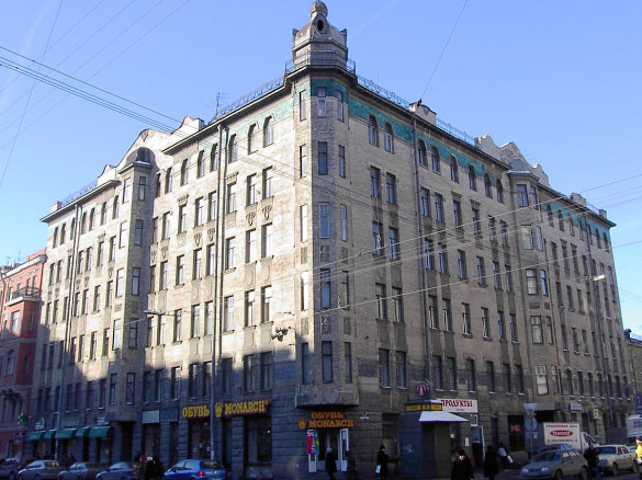 Средний проспект В. О., 47, дом Заварзиных