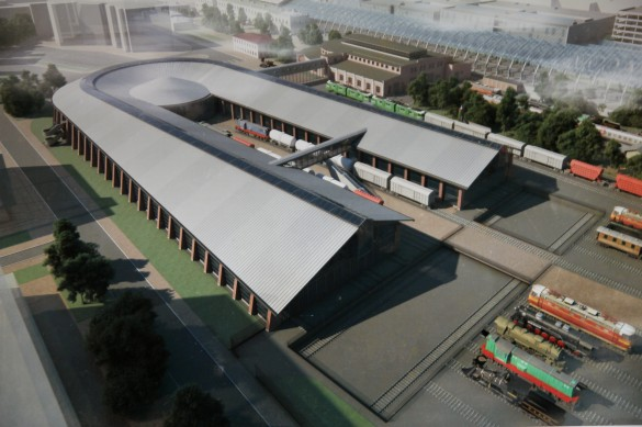 Проект музея на Балтийском вокзале