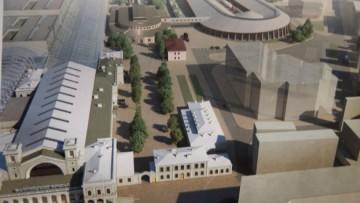 Новый музей на Балтийском вокзале