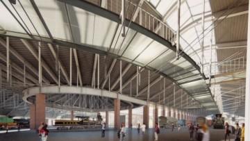 Новый железнодорожный музей на Балтийском вокзале