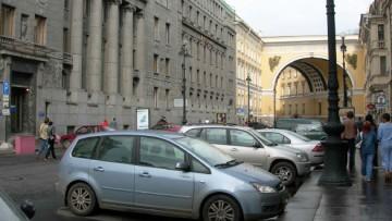 Большая Морская улица, арка Главного Штаба
