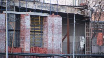 Восстановление веерного депо
