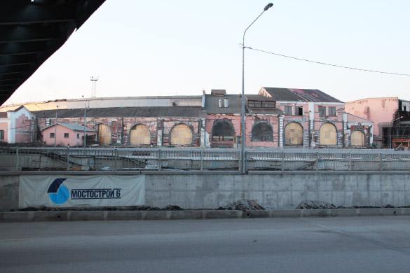 Веерное депо Николаевской железной дороги