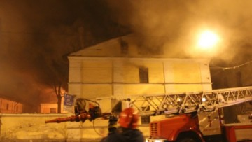 Пожар на Лермонтовском проспекте, Обводном канале