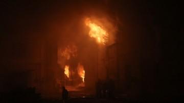 Пожар, Лермонтовский проспект, 59