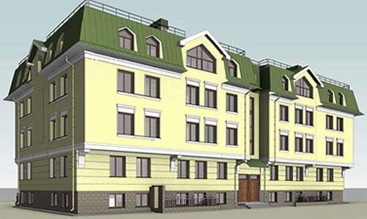 Проект дома на Гуммолосаровской улице, 4а