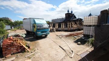 Храм Преображения Господня в Лигове, строительство