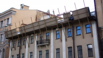Строительство мансарды на Жуковского 59-61
