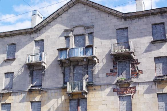Заброшенный дом на Магнитогорской, 53