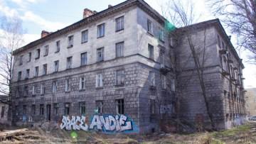 Заброшенный дом на Магнитогорской, 57