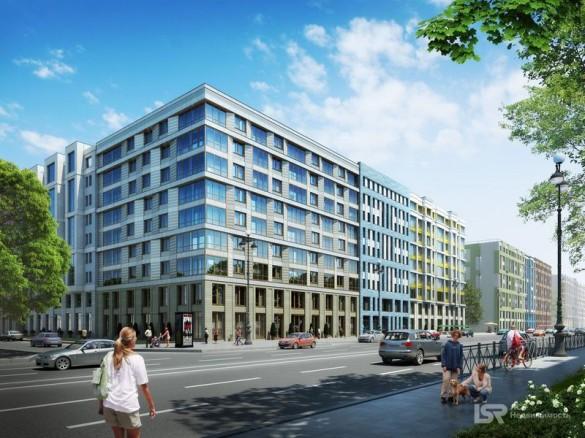 Проект жилого комплекса «Европа-сити» на проспекте Медиков, 10