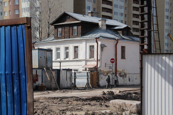 Строительство на Ново-Александровской улице, 10