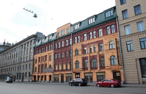 Историческое здание на проспекте Обуховской Обороны, 37