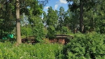 Остатки кирхи Фельтена в Павловске