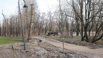 Парк Победы, мемориал