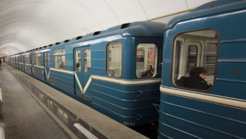 Ночное метро в Петербурге