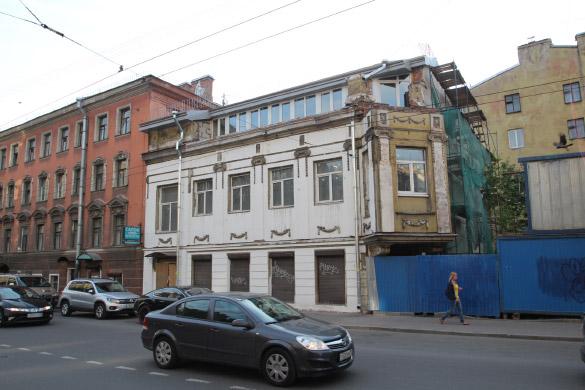 Особняк Шорохова на Большой Пушкарской улице, 32