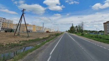 Колпинское шоссе в Славянке