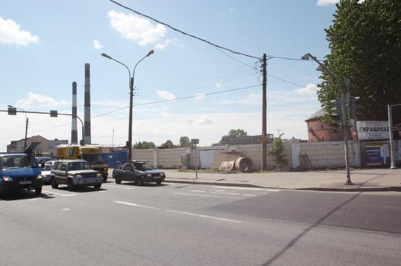 Снос газового завода на Обводном канале