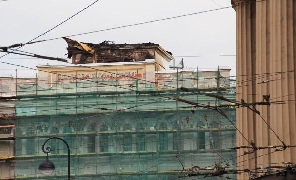 Технологический институт после пожара
