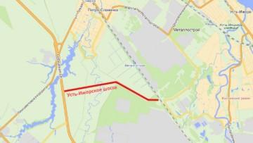 Усть-Ижорское шоссе, план