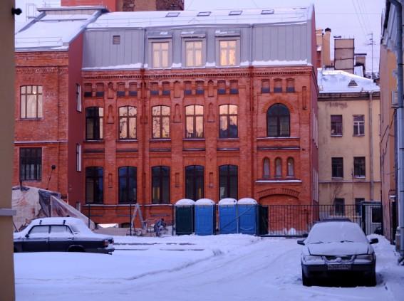 Здание фабрики Бух в Волжском переулке, 13