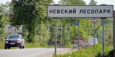 Знак Невский Лесопарк
