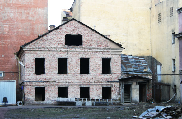 Симеоновская церковь, снесенное здание у церкви