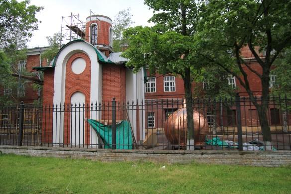 Часовня Федора Ушакова в Кронштадте