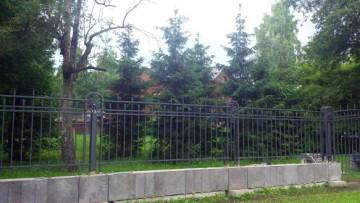 Забор на Каменном острове