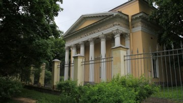 Кирха на ленинградской улице,1