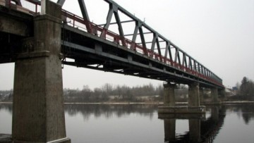 Мост через Волхов на трассе «Кола»