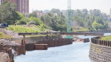 Трубопровод через Обводный канал