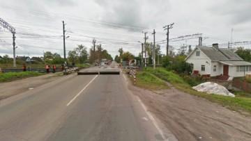 Путепровод, Двинское шоссе, Гатчина